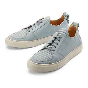ekn Smooth Leather Casual Shoe Grey