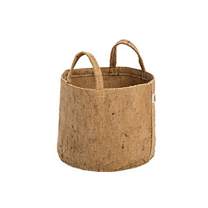 Fabric Planter Made of Jute Volume 30 l