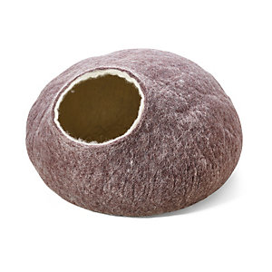 Felted Cat Cave, Brown