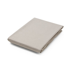 Fitted Sheet Made of Cotton Olive 90 × 200 × 15 cm