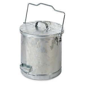 Galvanised Steel Ashbucket