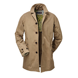 Gloverall Men's Car Coat Camel