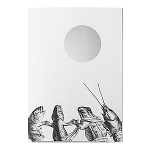 Grandville Greeting Cards Moon Dance