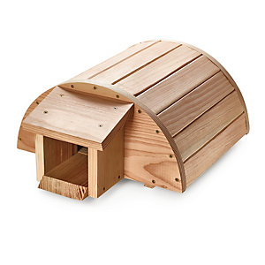 Hedgehog House Made of Larch Wood