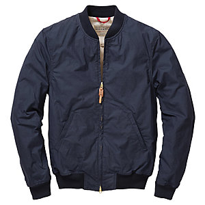 Herrenblouson Baumwolle, Navy