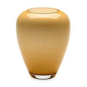Honey Yellow Harz Crystal Vase