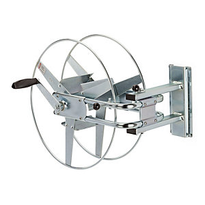 Hose reel wall mounting