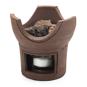 Incense Burner with Lava Stones