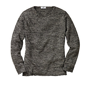 Inis Meáin Linen Shirt Anthracite