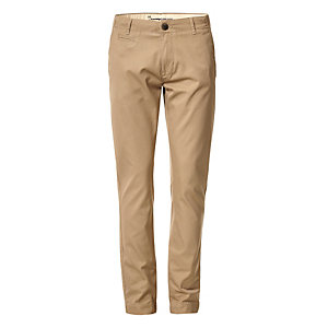 Knowledge Cotton Apparel Chino Trousers Beige