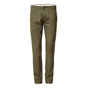 Knowledge Cotton Apparel Chino Trousers Olive