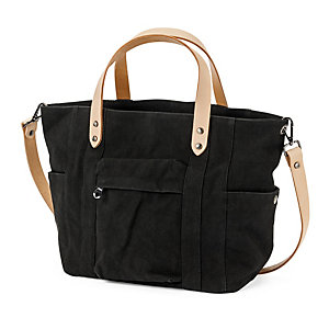 Manufactum Canvas-Shopper Schwarz