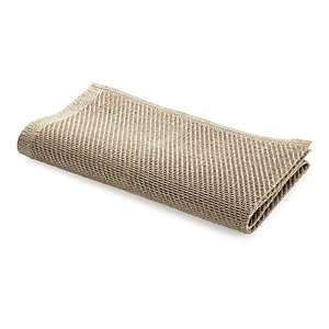 Natural linen scouring cloth