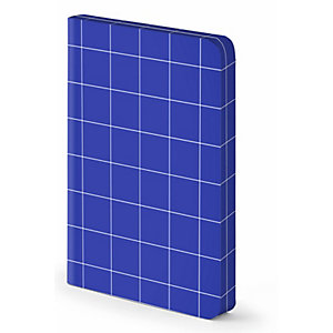 Notizbuch Break The Grid S - Blau