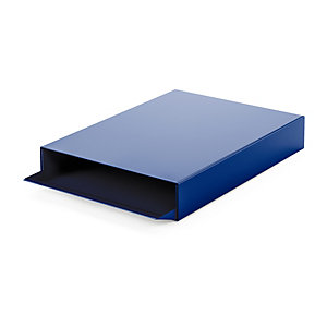 Paper Tray STACKER Sapphire Blue RAL 5003