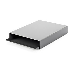 Paper Tray STACKER Dusty Grey RAL 7037