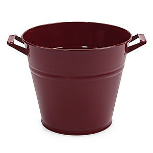 Plant Pot Made of Steel Sheet