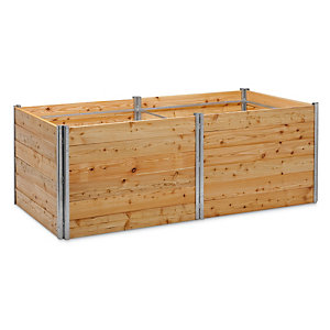 Raised Bed Made of Larch Wood