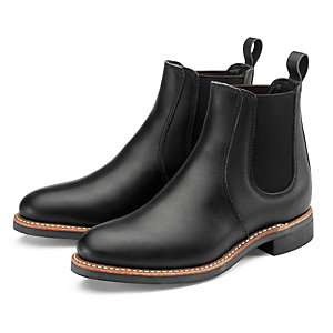 Red Wing Chelsea Rancher Damen, Schwarz