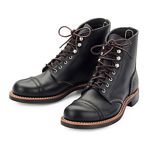 Red Wing Damen-Iron Ranger, Schwarz