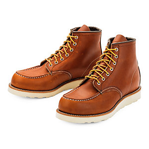Red Wing Men's Moc Boot, Light brown