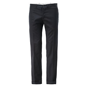 Reds Men's Trousers with Cuffs Dark blue