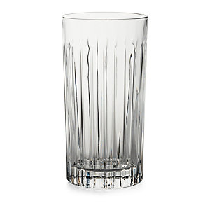 Ribbed Long Drink Glass