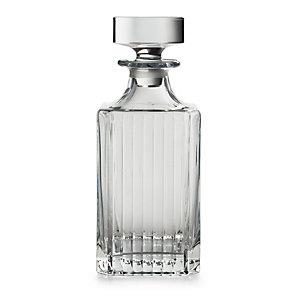 Ribbed Whisky Decanter