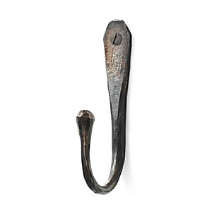 Round, Hand-Forged Hook