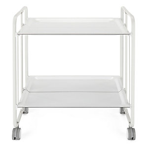 Serving Trolley Valencia White