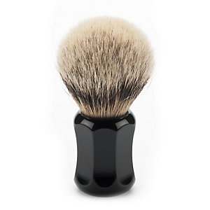 Shaving brush, badger hair, Small