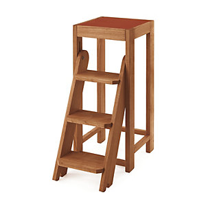 Step Stool Solid Wood, Cherry Wood