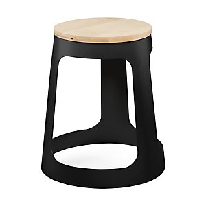 Stool GUESTSTOOL, Dark Grey RAL 7021