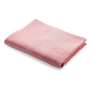 Structured Fabric Dish Towel Pink