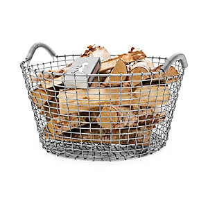 Swedish Wire Basket with two side-handles