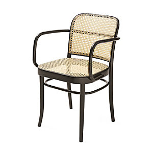 Ton Bentwood Armchair Dark stained with clear lacquer