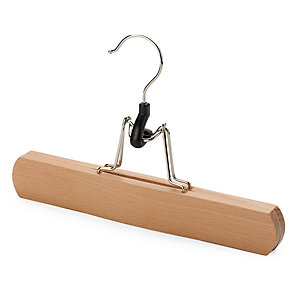 Trousers Hanger with Clamping Mechanism
