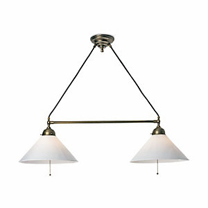 Two-Light Hanging Pendant