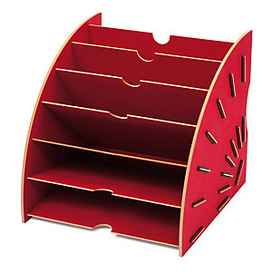 Werkhaus paper collector, Red