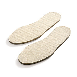 Wool Felt Insoles, Nature
