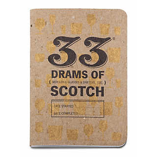 2 Scotch Whisky Tasting Notebooks