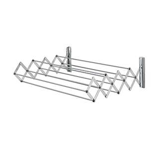 Aluminum Folding Clothes Drying Rack | Household Essentials