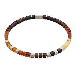 Amber Cubes Necklace