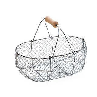 Braided Wire Basket small?