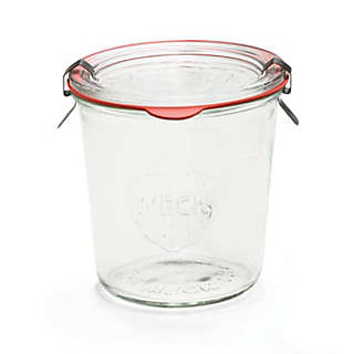 Canning Jar with Lid | Storage