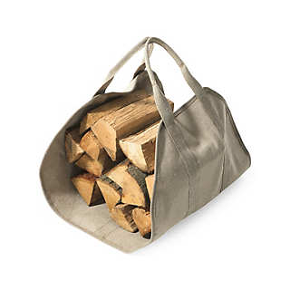 Canvas Firewood Bag | Household Essentials