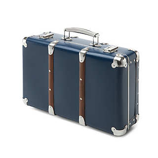 Cardboard Suitcases with Wooden Slats | Suitcases