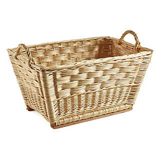 Children's Basket Made with the Cube Technique