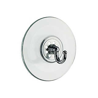 Chromed Zamak Hooks With Suction Cup