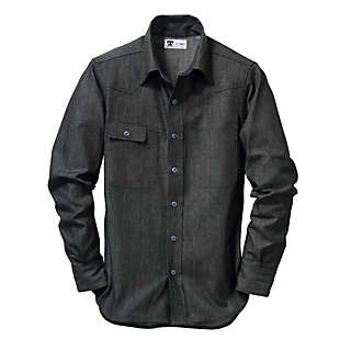 Tellason Denim-Shirt Dunkel